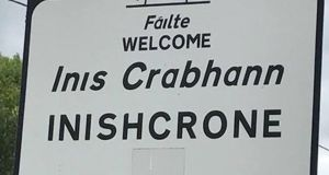 Inishcrone or  Enniscrone?  Locals expressed dismay  after it emerged  the council has received legal advice that the vote on the name change should be deferred pending the enactment of new legislation.