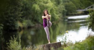 "What is being billed as Ireland's ""first ever national yoga festival"", called NOURISH #YogaFSTVL, is scheduled for September 17th-23rd. Yoga studios, workshops and retreats all over Ireland will be opening their doors to welcome locals of all ages and abilities. For more information check out fstvlr.ie. Pictured is Jeanie Jyanti of Anam Solas Yoga."