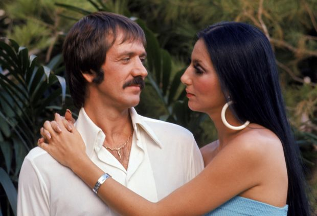 Sonny and Cher: the performer with her first husband in 1970. Photograph: Martin Mills/Getty Images