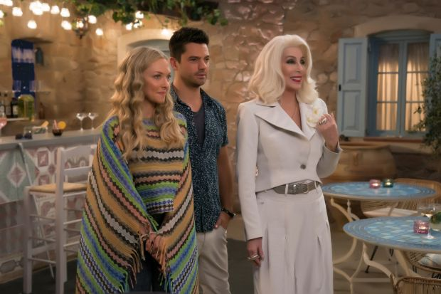 Mamma Mia! Here We Go Again: Cher with Amanda Seyfried and Dominic Cooper