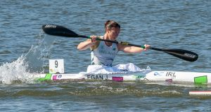 Jenny Egan  took bronze in the K1 5,000 metres at the canoe sprint World Championships in Montemor O Velho just two weeks ago.