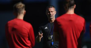 Ryan Giggs's Wales are in Ireland's group for the Uefa Nations League along with Denmark. Photograph: Stu Forster/Getty