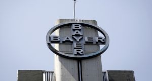 Bayer said it had counted on a stronger contribution from Monsanto to lift its full-year results. Photograph: Carlos Garcia Rawlins/Reuters