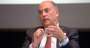 Mark Bourke, AIB's chief financial officer, has given the bank notice of his intention to stand down early next year. Photograph: Eric Luke / The Irish Times