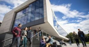 NUI Galway president Ciarán Ó hÓgartaigh said promotion of the Irish language was 'a core value' of the university.