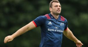 Tadhg Beirne is set to make his Munster debut on Friday night. Photograph: Oisin Keniry/Inpho