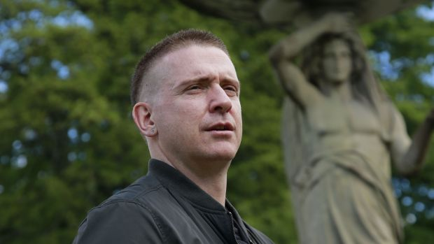 Damien Dempsey in the Iveagh Gardens. Photograph: Nick Bradshaw