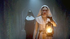 The Nun is trying to be like The Conjuring a falling at the hurdle. Photograph: Warner Bros