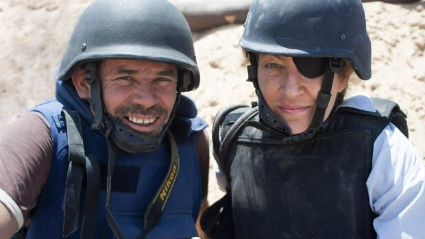 New this week: Paul Conroy and Marie Colvin in the documentary Under the Wire