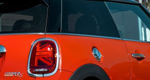 The Mini's new Union tail lights may not be for everyone