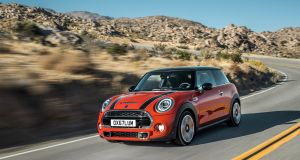 The Mini just zips along, with a sweet personality and an appetite for fun