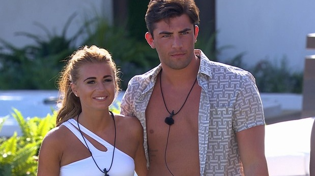Dani Dyer and Jack Fincham back on Love Island