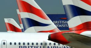 The breach at British Airways came at the height of the summer season. Photograph: AFP