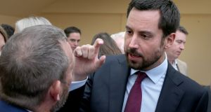Minister for Housing Eoghan Murphy  at the Fine Gael think-in  Galway. Photograph: Joe O'Shaughnessy