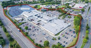 The centre is a mainly one-storey building with 11,300sq m of shops located at a junction between the Cork suburbs of Bishopstown, Glasheen and Wilton.