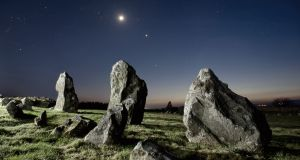 Beaghmore Stone Circles in Co Tyrone, a few miles northwest of Cookstown. Photograph: Ken Williams