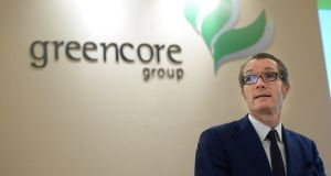Patrick Coveney, CEO of Greencore: warned of possible food shortages after Brexit. Photograph: Dara Mac Dónaill