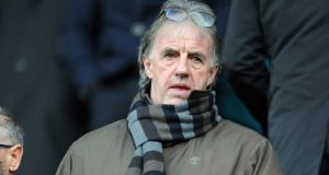 Mark Lawrenson has announced he has been given the all clear after having a cancerous patch of skin removed from his face. Photo: Clint Hughes/Getty Images