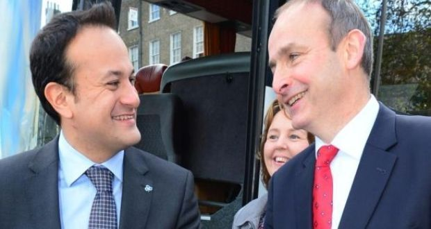 Image result for Varadkar and Martin