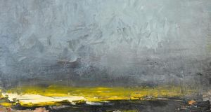 Overcast IX, by Carol Hodder, at Solomon Fine Art in Dublin