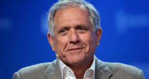 Leslie Moonves the former chairman and chief executive of  CBS. Photograph: Reuters