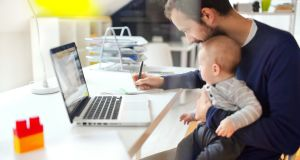 Advantages to the introduction of mobile working include increased motivation generated by the ability to look after family and personal needs. Photograph: iStock
