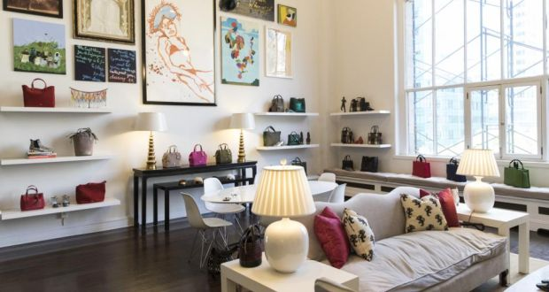 3f8387897e At the airy Frances Valentine headquarters in New York. Photograph:  Stefania Curto/New
