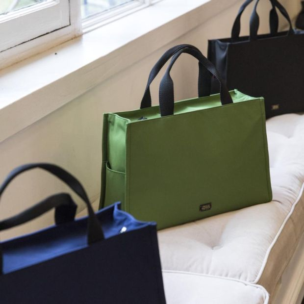 The Kate bag, a new version of the first bag Spade ever made. Photograph: Stefania Curto/New York Times