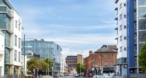 The Sharp Building on Hogan Place in Dublin's south inner city has been pre-let to Perrigo, a leading global healthcare provider, at a rent of €592 per square metre.