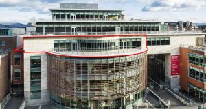 The  Oval: more than 180,000sq ft of office space plus retail units and basement gym