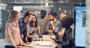 """Companies can also assemble, and disband, teams of freelancers and gig economy workers to collaborate on projects."" Photograph: iStock"