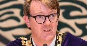 Mayor of Galway Neil McNelis