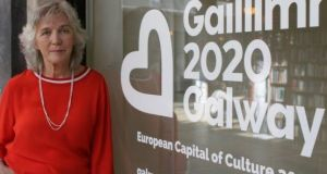 The chief executive of Galway's European Capital of Culture 2020 Hannah Kiely  has announced she is stepping down.