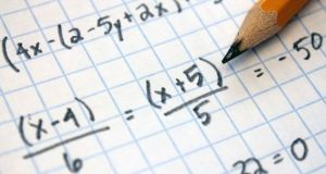Northern Irish researchers   have found   many children are suffering from dyscalculia. Photograph: iStock