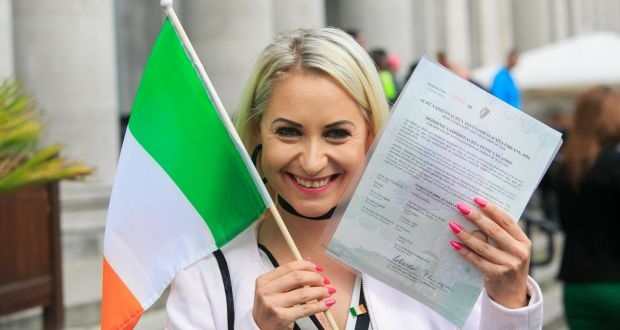 Citizenship ceremony in Dublin sees 480 new Irish take oath