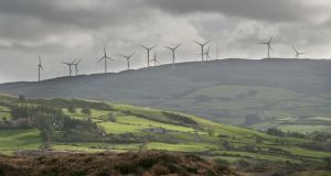 Coillte plans to build 25 more wind farms on its land with the capacity to generate 1,000 megawatts  of electricity over the next decade. Photograph: iStock