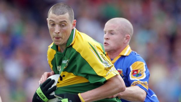 'Star' in action against Longford in 2006. Photograph: Lorraine O'Sullivan/Inpho