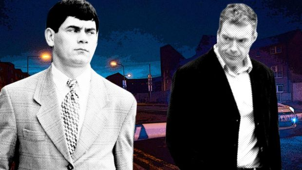 Gerry Hutch (the Monk) and Christy Kinahan: rival gangs are kept apart in Irish prisons.