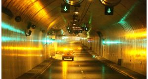 Dublin Port Tunnel: it diverts thousands of trucks every day from Dublin city centre