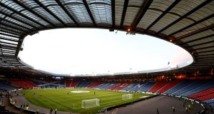 The Scottish FA have confirmed a deal to buy Hampden Park off Queen's Park. Photograph: Jason Cairnduff/Reuters