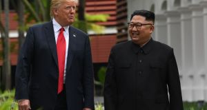 "Knowing of Trump's susceptibility to flattery, Kim Jong-un's latest overture was a letter – ""very warm, very positive"", in the words of White House press secretary Sarah Sanders – asking for a second meeting between the two men. Photograph: Saul Loeb/AFP/Getty Images"