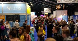 The Student Hub at the Higher Options conference at the RDS today.