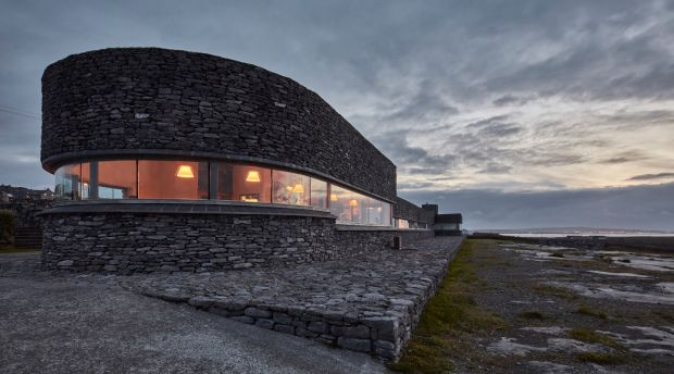 Aran Islands: Inis Meáin, the singular high-end restaurant and inn on the islands. Photograph: Andy Haslam/New York Times