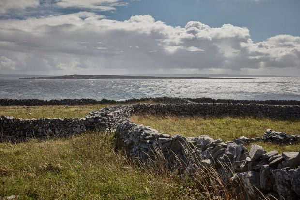 Aran Islands: a view of Inisheer from Inishmaan. Photograph: Andy Haslam/New York Times