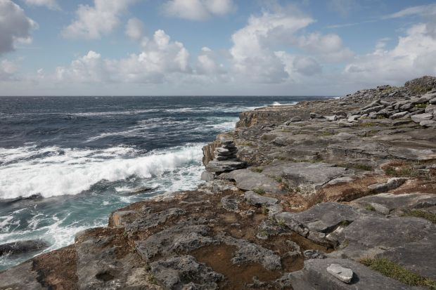 Aran Islands: the Inishmaan coastline. Photograph: Andy Haslam/New York Times