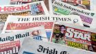 Reach, publisher of the Irish Daily Mirror, is buying 50% of the 'Irish Daily Star'. The other half is owned by 'Irish Independent' publisher INM. Photograph: Alan Betson / The Irish Times