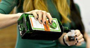 Jägermeister will be dropped from Wetherspoon's pubs. They have  already swapped out French champagne for sparkling wines from UK and Australia. Photograph: Mike Coppola/Getty Images