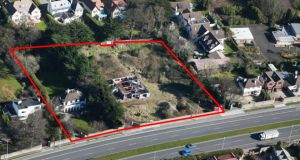 Richmond Homes' new Foxrock site: the Aberdour and Roselawn plots add up to 1.77 acres