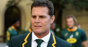Springbok head caoch Rassie Erasmus has named his team to take on New Zealand. Photograph: David Rogers/Getty Images