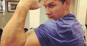 Gym bunny: Mark Wahlberg is battling to preserve the  body that made him famous as a Calvin Klein model in his 20s. Photograph: Mark Wahlberg/Instagram